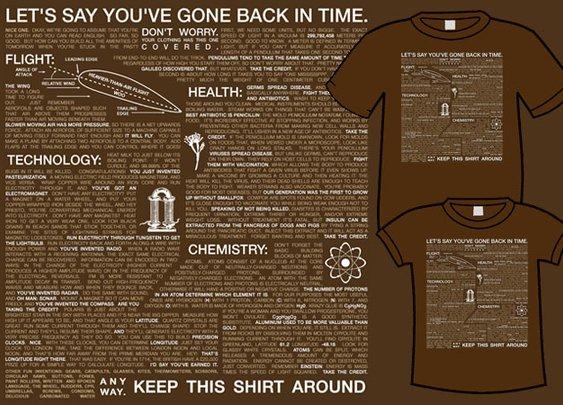 You've gone back in time