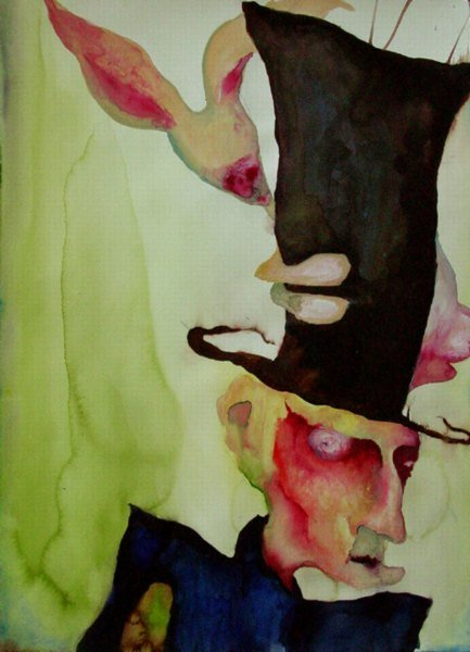 Marilyn Manson Watercolors