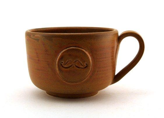'stache mug