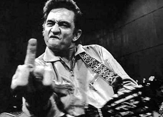 Don't F*@# with Johnny Cash