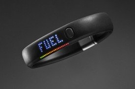 FuelBand by Nike that tracks all physical activity