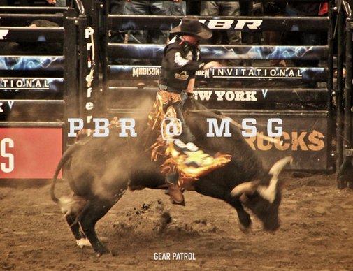 Photo Essay: Professional Bull Riders Madison Square Garden Invitational