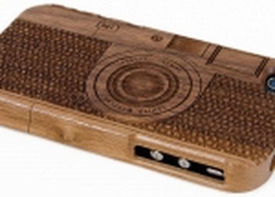 Walnut Vintage Camera iPhone Case