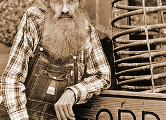 """Marvin """"Popcorn"""" Sutton, late Tennessee Moonshiner"""