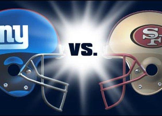 SF 49ers vs NY Giants- NFC Championship Game 2012