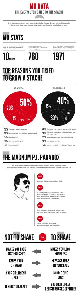 Mo Data: The EveryGuyed Guide to the Stache