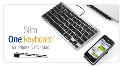 Matias Slim One Keyboard for iPhone & PC/Mac