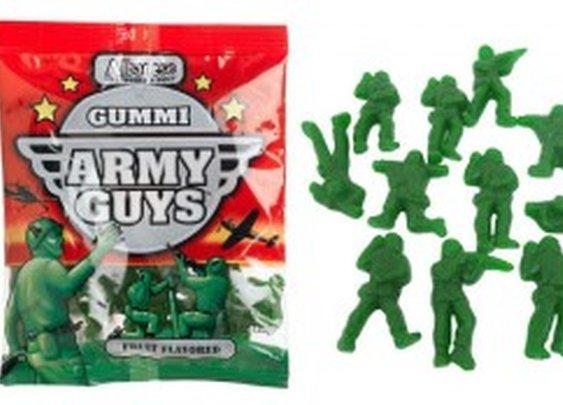 Yummy Gummi Green Army Men
