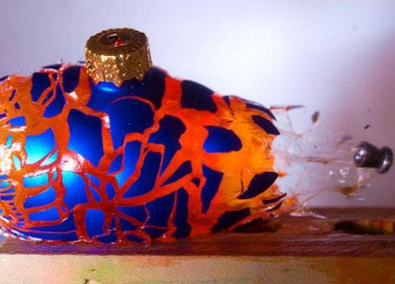 Artist Captures the Beauty of Disintegration via Pellet Gun