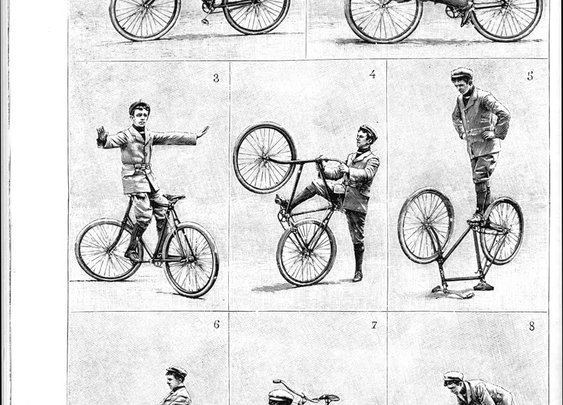 Vintage Bicycle Tricks