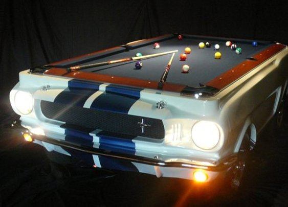 The car pool table.