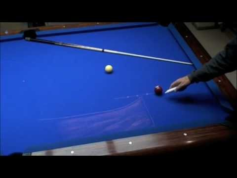Billiards: Cue Ball Control -part 1      - YouTube