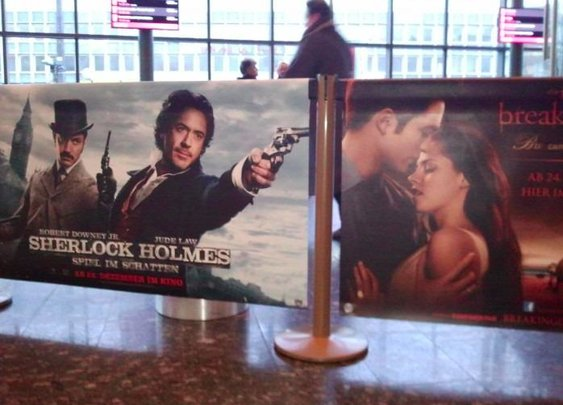 Movie poster placement win