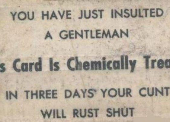 Careful, Ladies.