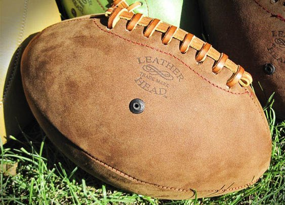 Leather Head Handsome American Footballs