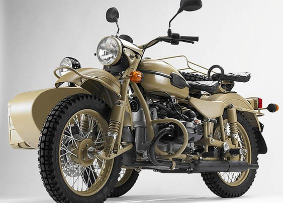 Ural Sahara Motorcycle | Cool Material