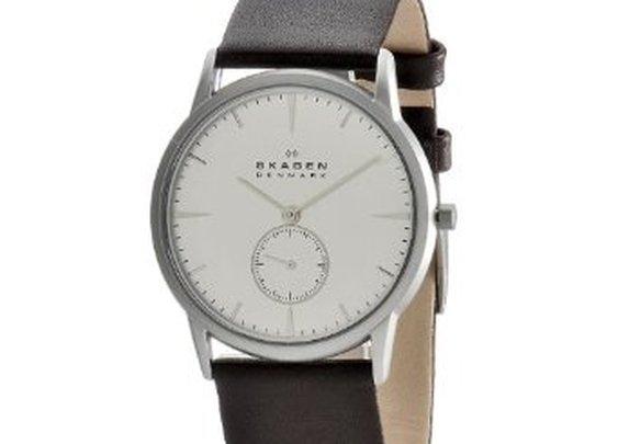 Skagen Men's 958XLSL Steel Steel Matte Silver Watch