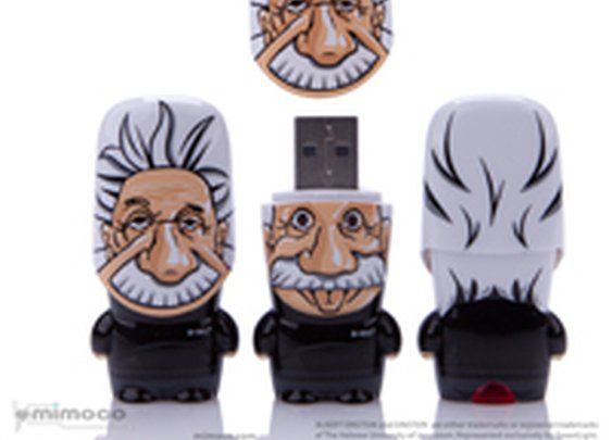 Albert Einstein in Flash Drive Form!