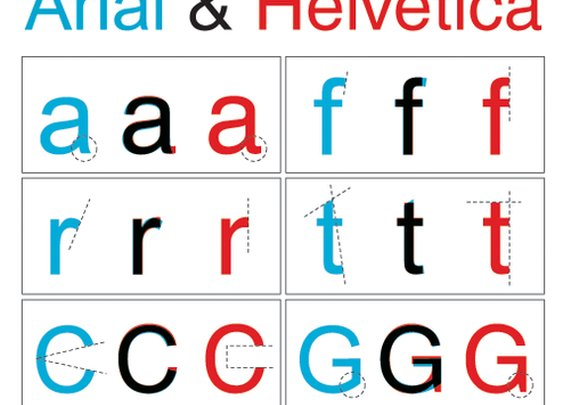 Arial & Helvetica