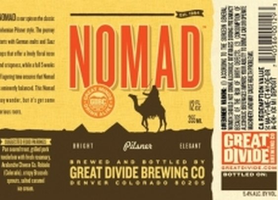 Great Divide Nomad | GreatBrewers.com