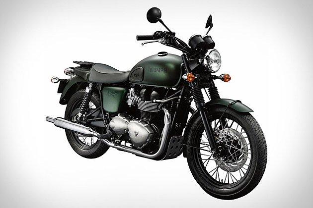 Triumph Bonneville T100 Steve McQueen Edition Motorcycle | Uncrate