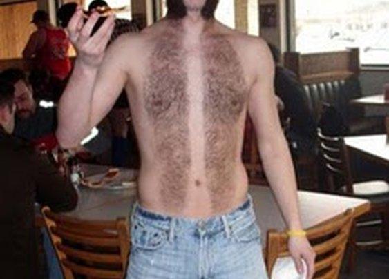 Full Body Moustache
