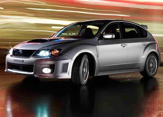 Subaru Impreza WRX...bam!