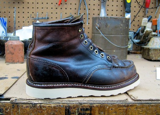 Better Than New | Re-crafting the Red Wing 875 | A Continuous Lean.