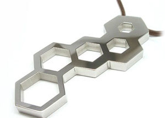 ThinkGeek :: Hex Wrench Pendant