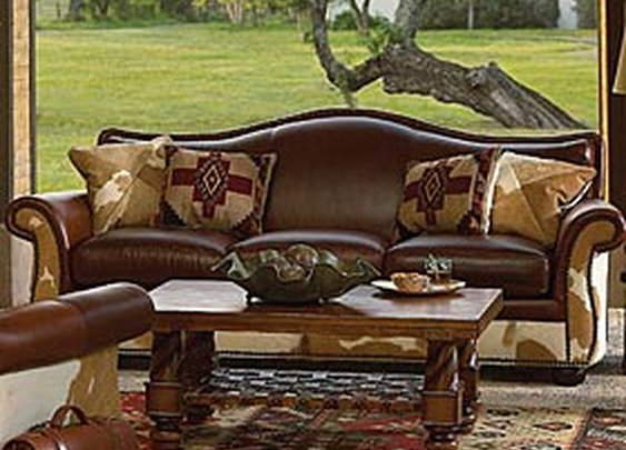 BONANZA SOFA - King Ranch Saddle Shop