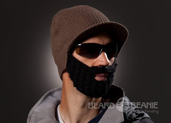 Beard Beanie.....You find what fits you best!