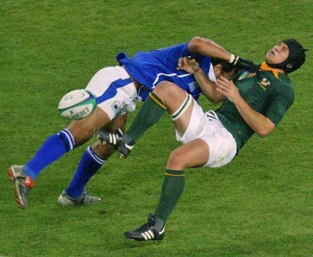 Rugby Hitting at its Best | Sportige