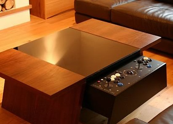 Surface Tension Arcade Coffee Table