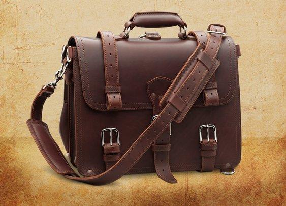 Saddleback briefcase
