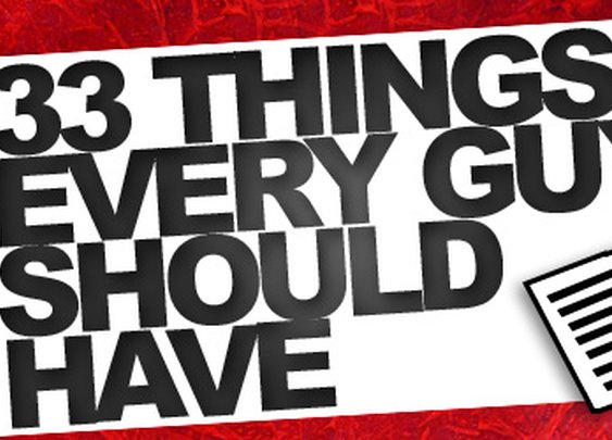33 Things Every Guy Should Have - Best Guy Products