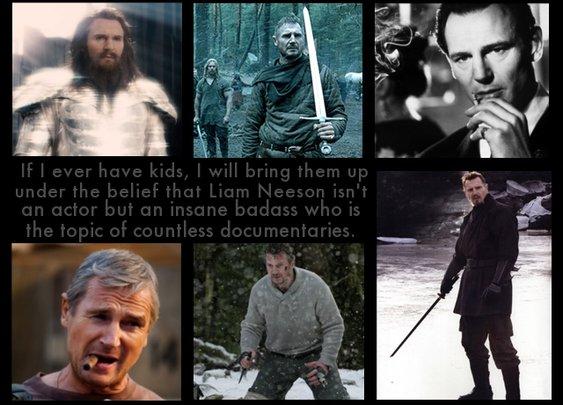 Liam Nesson - Badass