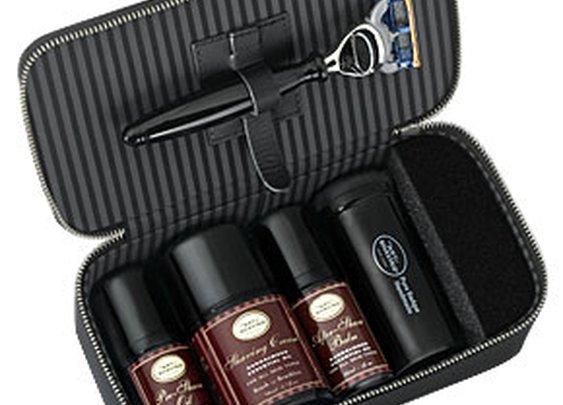 Sandalwood Travel Shaving Kit & Razor: Buy Shaving Kit with Razor