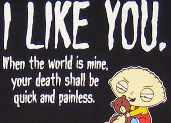 Stewie t-shirt