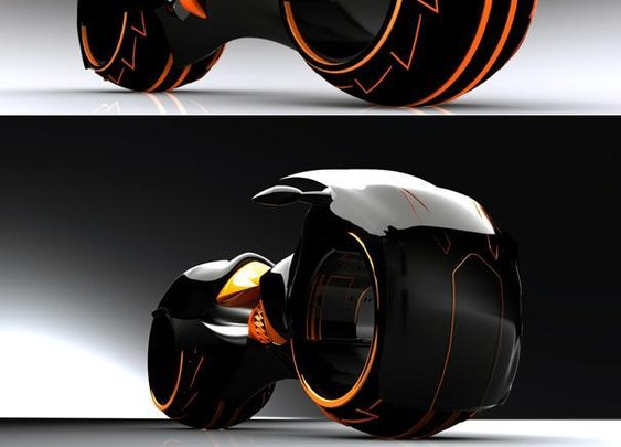 Tron Light Cycle By Wallace Campbell | krunchmag