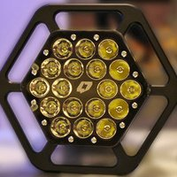 This 15,000 Lumens LED Light Cannon Will Turn Night to Day