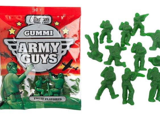 Gummi Army Guys