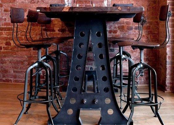 Vintage Industrial Desk for HannahMH by VintageIndustrial