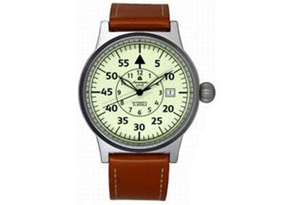 Aeromatic 1912 Automatic Aviator's Watch with Luminous Dial
