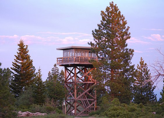 How to picnic overnight at a rented fire lookout tower for $40 a night high above the forest - Sacramento Nutrition | Examiner.com