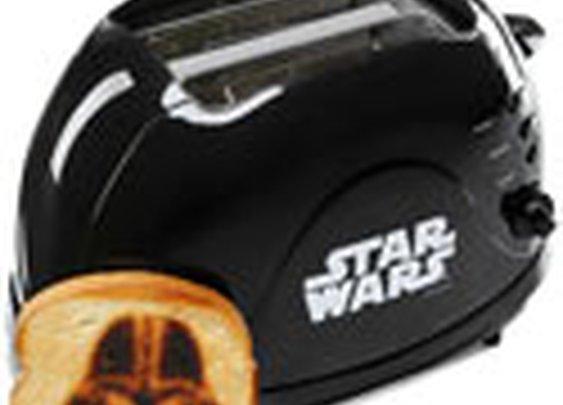 ThinkGeek :: Darth Vader Bread Imprinting Toaster