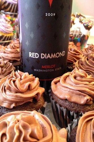 Merlot Cupcakes