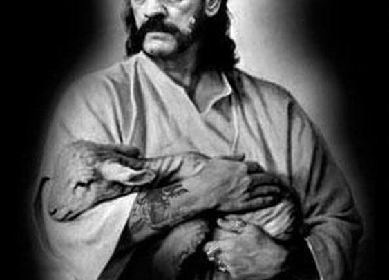 Who'd win in a wrestling match, Lemmy or God!