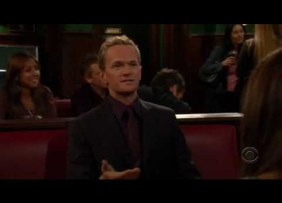 How I Met Your Mother - When I get sad I stop being sad ...      - YouTube