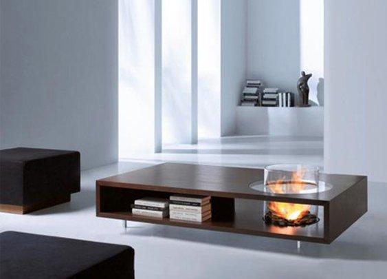 Coffee Fire Long table