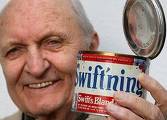 German pensioner eats 64-year-old US lard